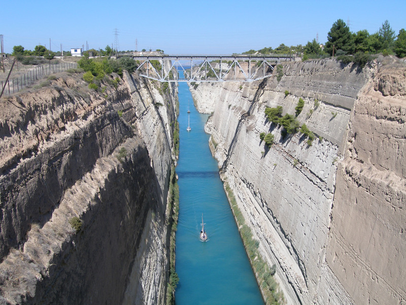 Corinth Canal Ancient Corinth Half Day Tour from Athens or Nafplio
