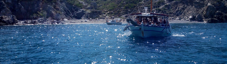 Skiathos island boat