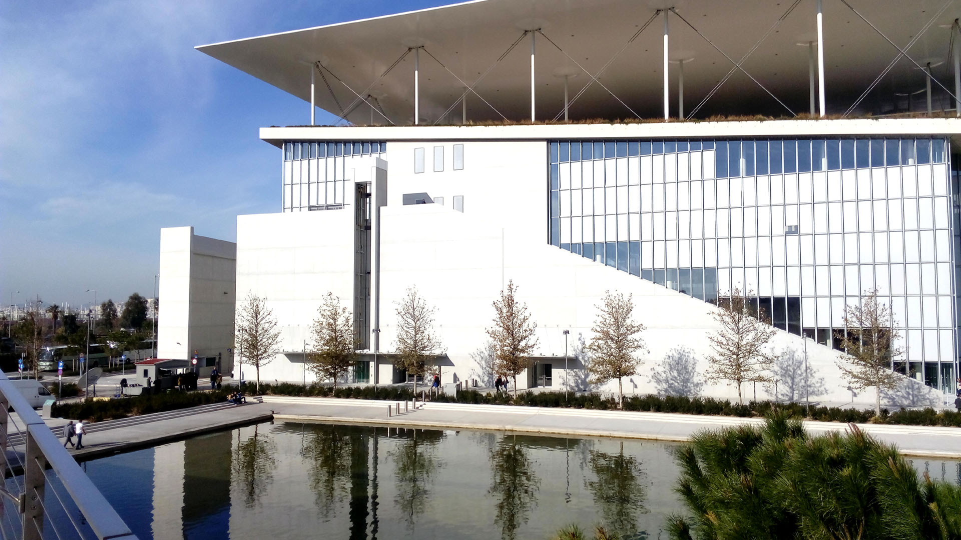 Stavros Niarchos foundation half day tour