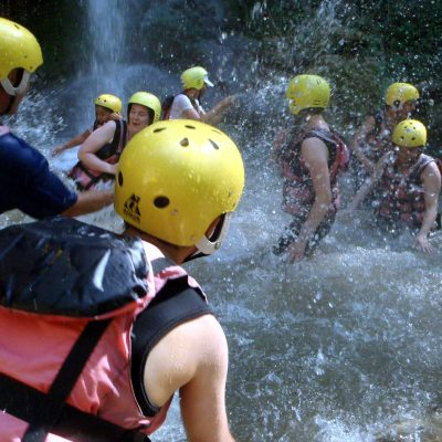 white water river rafting