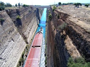 Corinth canal private tour