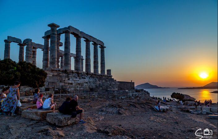 Cape Sounion - temple of Poseidon