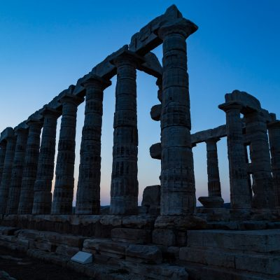 Cape Sounion - temple of Poseidon