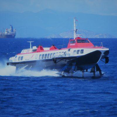 hydra island boat