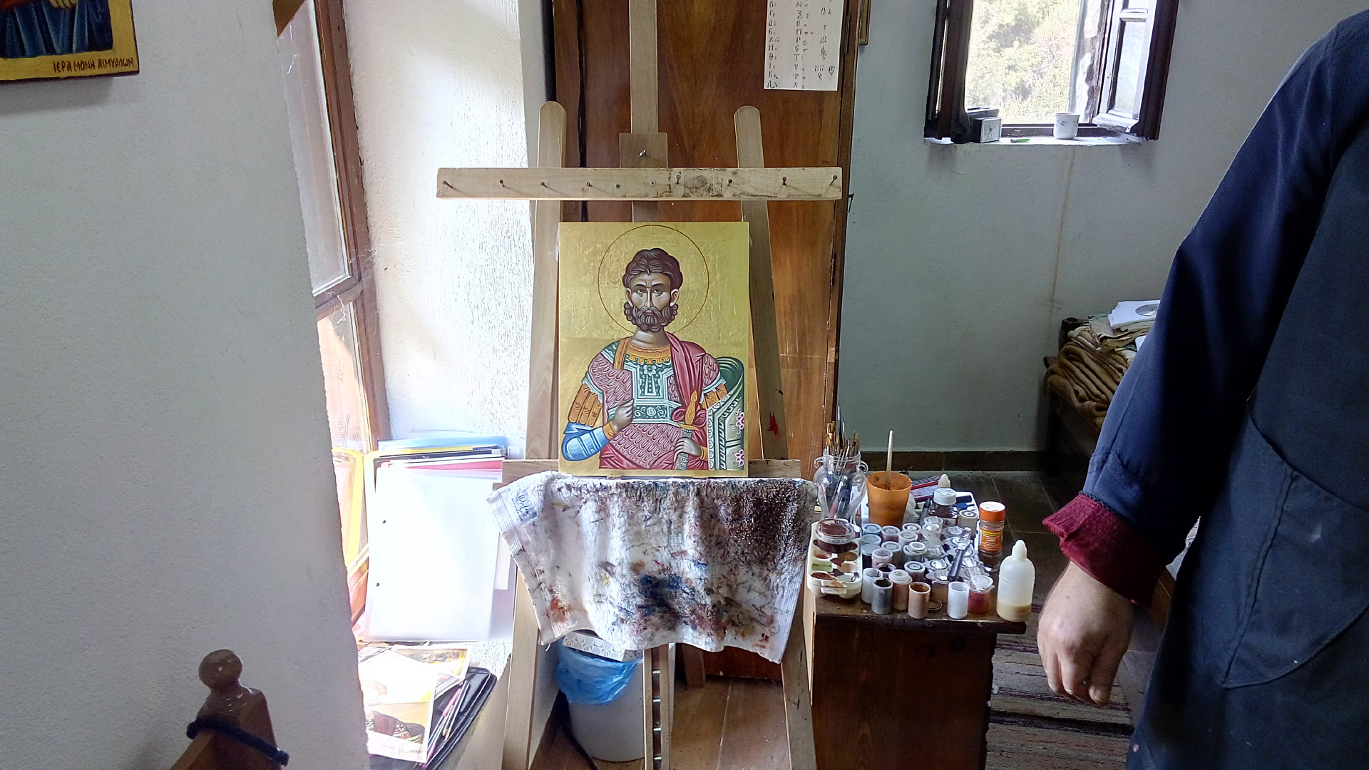 icon-painting-in-monastery
