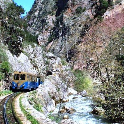 Odontotos rack railway private tour