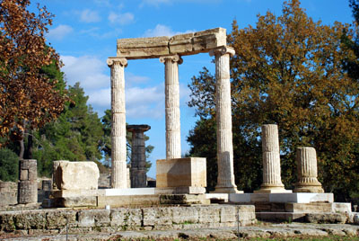 Two day tour to Olympia from Athens or Nafplio