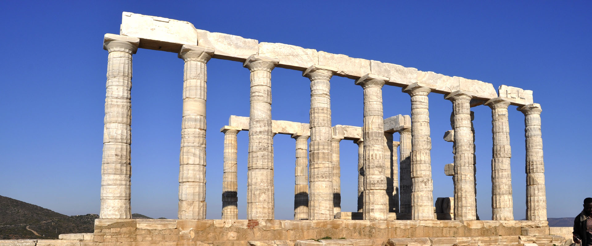 Temple of Poseidon at Cape Sounion - Private tours Athens Greece