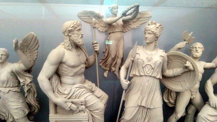 Athens museum gods