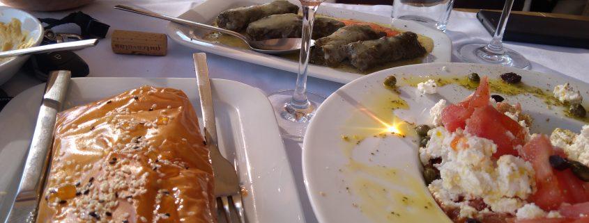 nemea lunch food