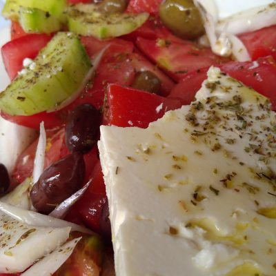 food greek salad