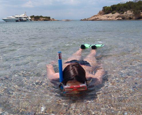 swimming beach people