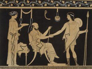 ancient greek people food