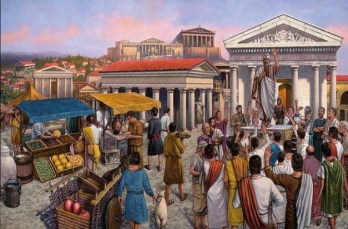 ancient greek people food