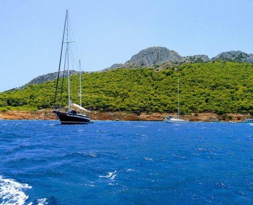 Aegina island boat