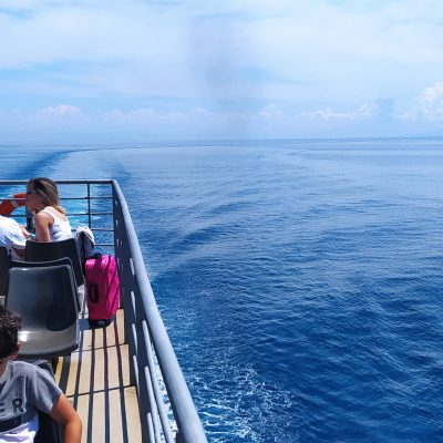 Zakynthos island boat