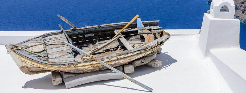 santorini island boat