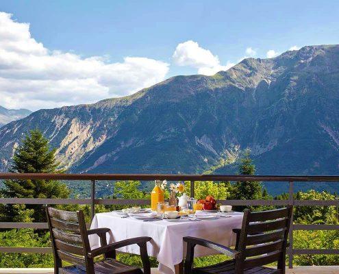 hotel orizontes food tzoumerka